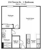 1 bedroom in Cambria