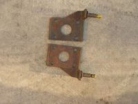 Find NOS GM 1953-1959 CORVETTE SHOCK MOUNTING PLATES.... 283 2x4 carb FI ncrs motorcycle in Claremore, Oklahoma, United States