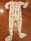 Carter's Boys footed pjs - Size 18 Months