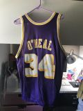 Vintage reversible Shaquille O Neal Lakers Basketball Jersey 90 s