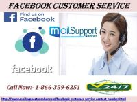 Confront connoisseur techies to solve issues via Facebook customer service 1-866-359-6251