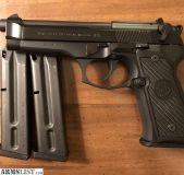 For Sale: Beretta 92FS 9mm