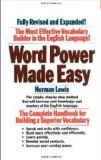 BOOK WORD POWER MADE EASY- NORMAN LEWIS