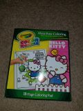 Hello kitty mess free coloring book