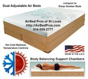 Sleep Number Bed Dual Temp vs Air Bed Pros (AirBed Pros of St Louis)