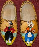 Small Wooden Shoes From Holland