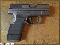 For Sale: Springfield XD .40 sub compact