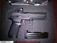 For Sale/Trade: sig sauer p320 RX full-size 9mm TRADE/SELL