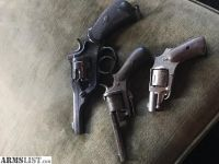 For Sale/Trade: Vintage Webley .455 Pocket 6.35 Revolver & More!