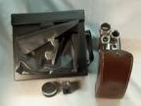 Vintage Kodak Brownie Movie Camera w/Case Turrent F/2.3