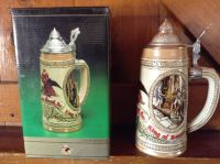 Budweiser Collectible Steins.