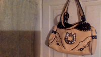 new western bling purse!