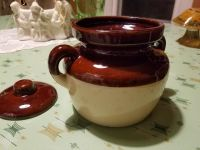 Mccoy pottery piece with cover