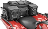 Purchase Quadboss Zipperless Oversized Bag Pack w/Cover Black ATV UTV ATC Honda Polaris motorcycle in Loudon, Tennessee, US, for US $151.23