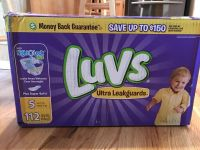 Luvs diapers size 5 112 ct