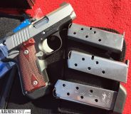 For Sale/Trade: Kimber .380 ACP Micro CDP (LG), Night Sights Crimson Trace Lasergrips, Custom, 4 magazines