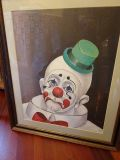 Red Skelton Signed Picture