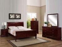 "TRENDY ESPRESSO LOUIS PHILIPE COLLECTION ""solid wood"" QUEEN BED SET!"
