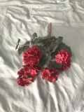 Red fake flower it s a deeper red then pic