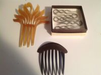 Vintage Decorative Hair Combs
