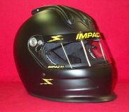 Buy Impact Super Charger Air Helmet Flat Black SA2015 imca Your Choice of M,L,XL motorcycle in Waterloo, Iowa, United States, for US $519.00
