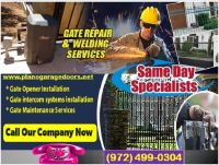 One of the Best New Gate Installation company in Plano, TX