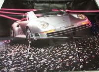 Sell NOS 1986 Porsche Dealer Sales Brochure Folder Large Poster 944 911 928 motorcycle in Holts Summit, Missouri, United States, for US $19.86