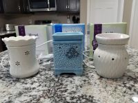 3 Large Scentsy Warmers-all for $25