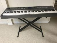 Yamaha Synthesizer MM8 keyboard with weighted keys. MINT condition