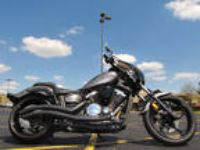 2014 Yamaha Xvs13cegy-C Stryker Gray