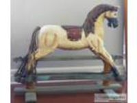 Vintage glider Rocking Horse