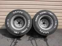Purchase NOS VINTAGE MARSH'S DRAG RACING TIRES & WHEELS 14X10.5 GASSER FORD MOPAR AMC motorcycle in East Earl, Pennsylvania, United States, for US $999.00