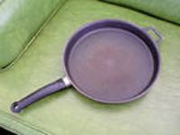 11 1/2 Inch Cast Fry Pan from Guss Stove