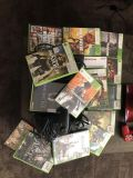 Xbox360 gaming system and games