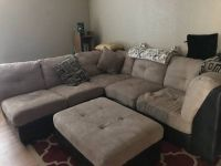 tan sectional couch