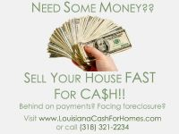 Trade your house for FAST CASH (Caddo, Bossier, Desoto)