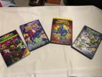 Teenage mutant ninja turtles DVDs
