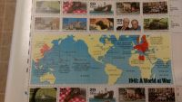 WWII 50th anniversary stamps