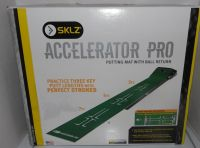 SKLZ Accelerator Pro Putting Golf Mat with Ball Return ~ NEW