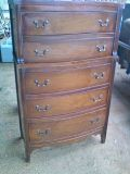 Matching antique Chest of Drawers and Dresser