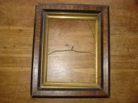 Antique Deep Well Picture Frame with Gold Gilt