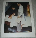"""Freedom from Fear"" - Norman Rockwell  Vtg Print - No. 11957 - 1990"