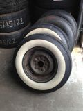 "Sell 1955 56 57 28 59 60 61 62 CHEVY BELAIR rat Hot Rod White Wall Tire Wheels 14"" motorcycle in Bloomfield Hills, Michigan, US, for US $225.00"