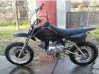 2009 Yamaha 125 Dirt Bike