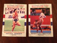 Olympic Hall of Fame Cards