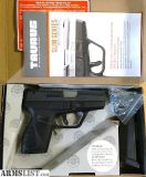 For Sale: Like New Taurus PT-709 9mm slim conceal carry pistol with 2 mags and original box and docs w/warranty.