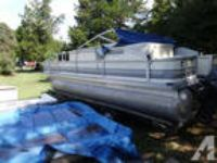 1998 Pontoon Boat for sale!