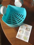 Corner shower caddy. New, never used