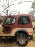 Hardtop and Doors for 1980 Jeep CJ5