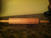 Old Wooden Rolling Pin